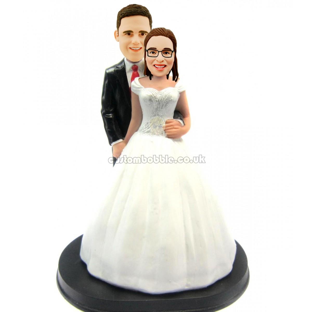 wedding cake topper bobbleheads. Black Bedroom Furniture Sets. Home Design Ideas