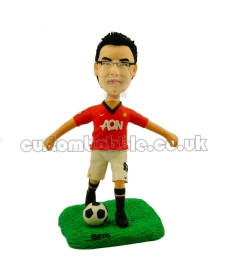 Manchester United fans custom bobblehead soccer