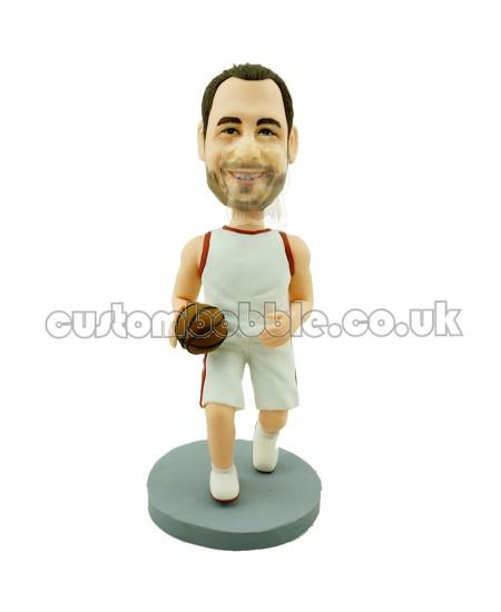 basketball player bobblehead customised