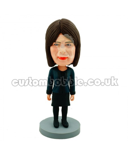 casual female personalised bobblehead