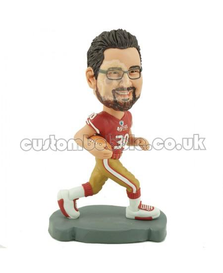 custom 49ers american football bobblehead