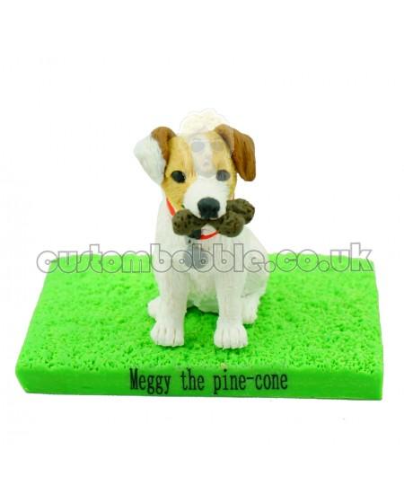 custom jack russell terrier bobblehead