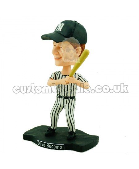 customised baseball bobblehead