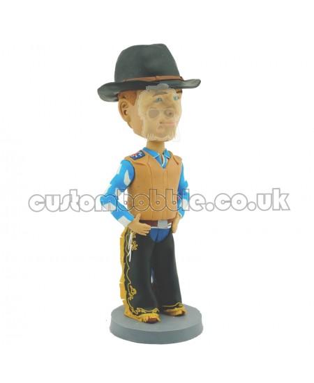 customised bullfighter bobblehead