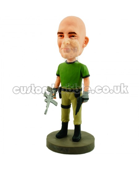 firefly soldier personalised bobblehead