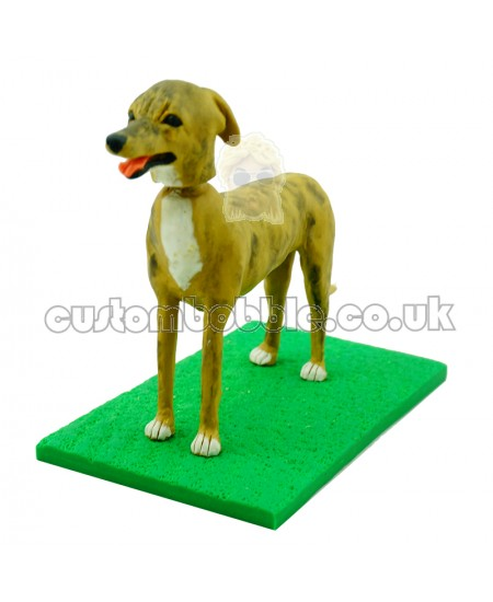 personalised doberman pinscher dog bobblehead
