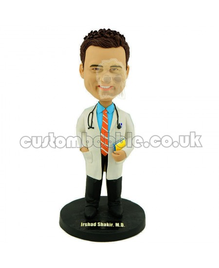 personalised doctor bobble head