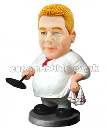 cook personalised bobble head