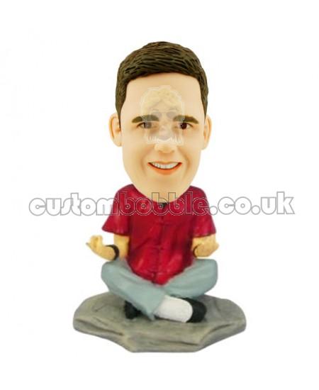 yoga man custom bobblehead