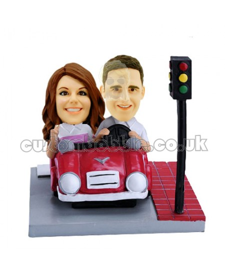 convertible customised couple bobbleheads