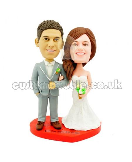 Customised Wedding Bobbleheads