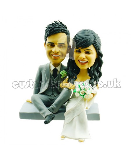 Personalised Cake Topper Wedding