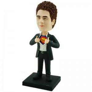 custom super man bobblehead