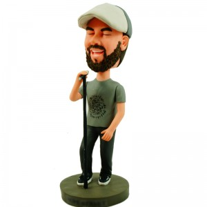 customized singer bobblehead