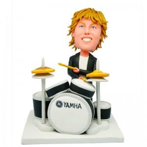 personalised drummer bobblehead