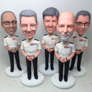 personalised five colleagues bobblehad