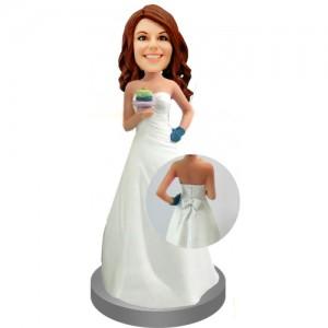 bridesmaid custom bobblehead