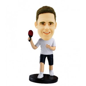 table tennis personalised bobblehead