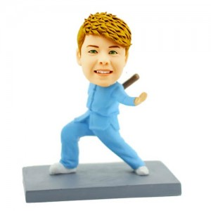 the karate kid custom bobblehead