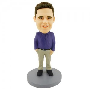 personalised smart colleague bobblehead