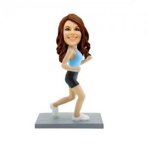 running pretty woman custom bobblehead