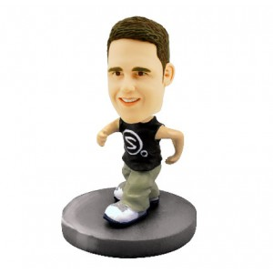 runner custom bobblehead