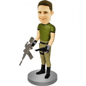 custom bobblehead firefly gunman