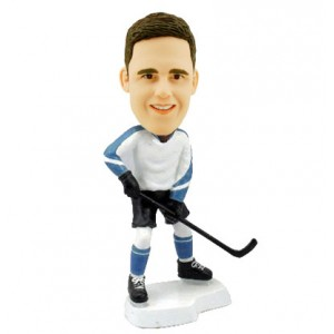 ice hockey personalized bobblehead