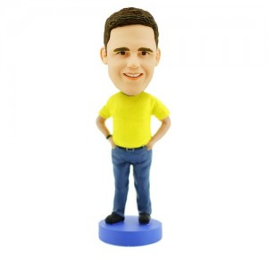 custom boss bobble head doll