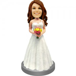 personalised bridesmaids wedding cake topper