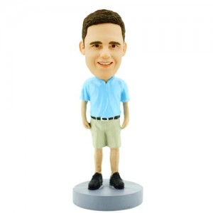 casual man custom bobblehead