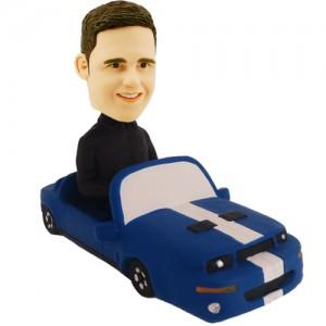 custom fun car bobblehead