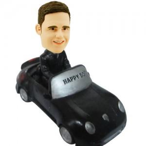 custom mini car bobble head