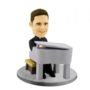 pianist customized bobblehead