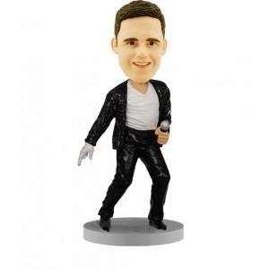 personalized bobblehead michael jackson